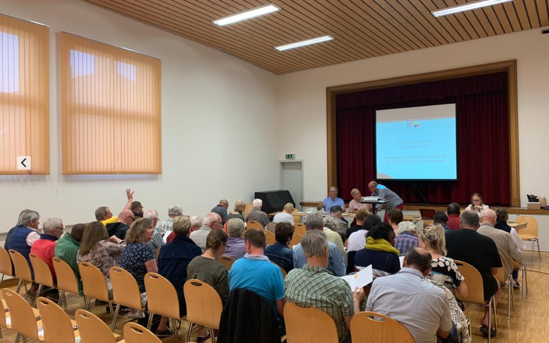 Assemblée générale 2019 à Rivaz